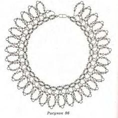 Jewelry: Bead Weaving Necklaces, Ropes, etc. on Pinterest