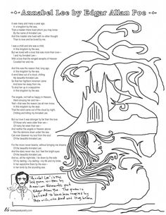 Our coloring page poems series brings the fun stress