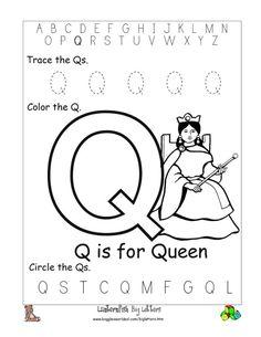1000+ images about Preschool Letter Q on Pinterest