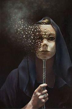 Image result for washington mask crumbling