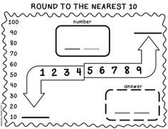 Rounding and Estimation Worksheets * to the nearest 10