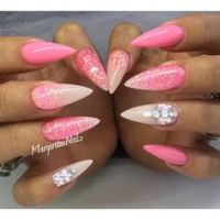 1000+ ideas about Pink Stiletto Nails on Pinterest ...