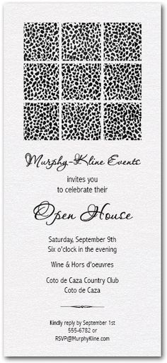 1000+ images about Business Invitations on Pinterest