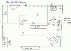 practical magic blueprints floor plans bedroom movie dollhouse dream paper decor deco homes log layout