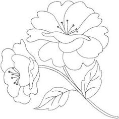 Quilters Flower 5 Smaller (HDFQ5A) Embroidery Design by