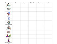 Lesson plans, Preschool and Preschool lessons on Pinterest