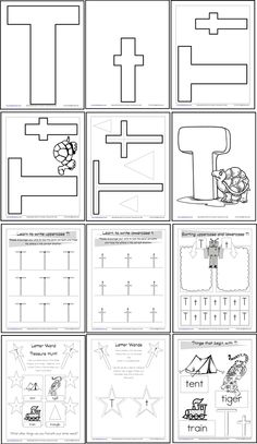 1000+ ideas about Letter Worksheets on Pinterest