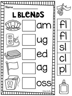Phonics activities for first grade to challenge gifted