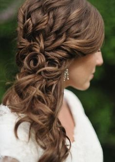 bruid party kapsels on pinterest wedding hairstyles updo and braided wedding hairstyles