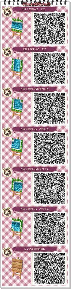 Acnl Water Path Qr Code Acnl Qr Codes