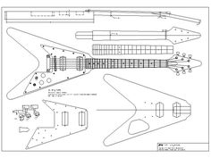 Solid Body Electric Guitar Plan #17: Electronic Version