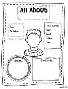 1000+ images about Kindergarten-Myself Unit on Pinterest