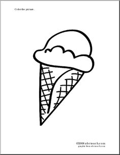 Ice cream cones, Ice and Food crafts on Pinterest