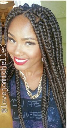 Jumbo Braids In A Bob Projects To Try Pinterest Carrés