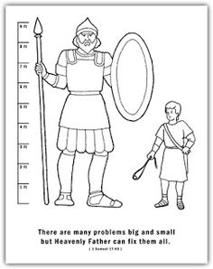 David and goliath, David and Game on Pinterest