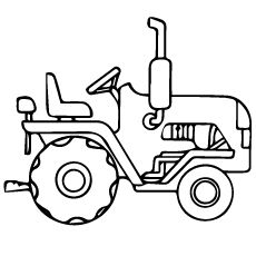Tractor Cartoon Stock Vector Illustration And Royalty Free