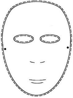 Great for Mardi Gras! Commedia Dell'Arte: Mask Templates
