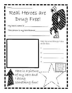 Red Ribbon Week Coloring Pages and Activities Compliments