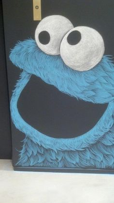 Bert Sesame Street Iphone X Wallpaper Monster Drawing Marker Cookie Monster By Darkdorart