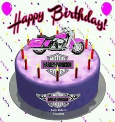 Free Harley Davidson E Cards harley birthday blingee