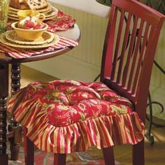 chair cushions with ties french country chairs for party hire 1000+ images about kitchen and dining areas on pinterest | ...