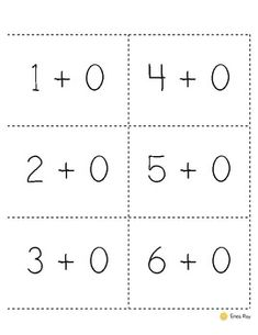 Addition and Subtraction 0-20 Facts Cards. Flash cards for