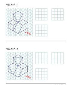 Alphabet a, Isometric paper and The alphabet on Pinterest