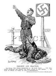 Image result for ww2 political cartoons with explanations