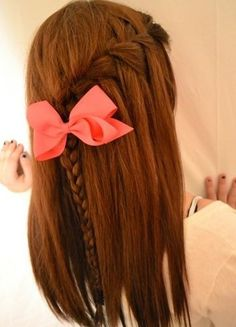 10 Cute And Easy Hairstyles For Middle School Girls Easy