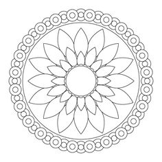 Rangoli designs. Patterns for children to colour. Could be