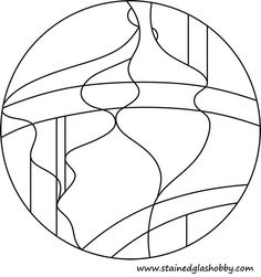 Stained glass pattern but would be cool as a string for