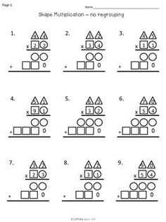 Multiplication activities, Multiplication and Make it on