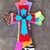 Crosses diy on Pinterest | Crosses, Wall Crosses and ...