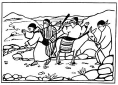 Good Samaritan Spot the Differences Bible Activity for