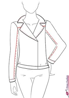 How-to-draw-a-leather-jacket-step-by-step-tutorial-9