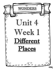 1000+ images about Reading Wonders Resources on Pinterest