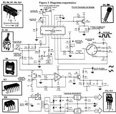 Circuit Diagram of Water Level Indicator with Voice Alarm