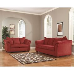 Grey Modern Living Rooms And Red Living Rooms On Pinterest