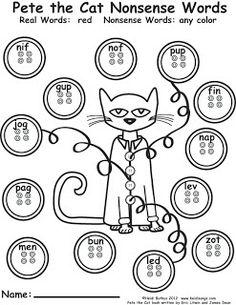 Heidisongs Resource: Pete the Cat Saves Christmas Word