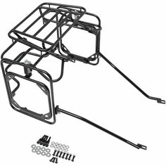 Luggage rack for the CRF 250 L with hand grabs. Price: €44