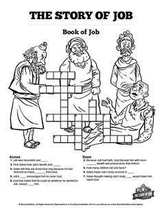 Jesus' Crucifixion Sunday School Crossword Puzzles: A