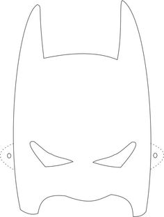 graphic relating to Printable Batman Mask Template called Very simple Batman Mask Printable Template Historical past of analyze and