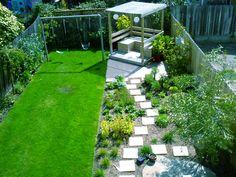 Child Friendly Terraced Garden Google Search Kids' Backyard
