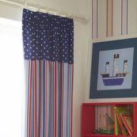 Kids Window Treatments Curtain Valance Boys Room Nursery ...
