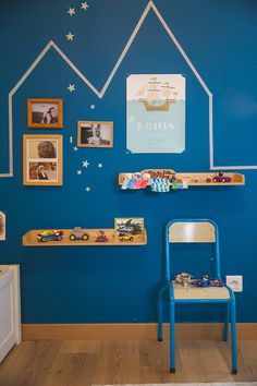 Chambre garcon bleu orange mathy by bols  Tobia  Pinterest  Deco By and Decoration