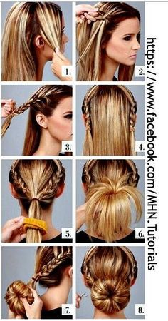 Nothin' Fancy Really Easy Hairstyle Tutorial The Braided Donut