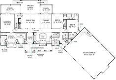 House plans, Decks and House on Pinterest