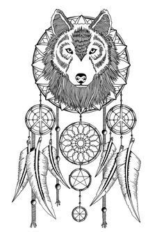 Download your free Dream Catcher Stencil here. Save time