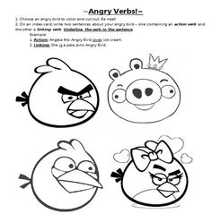 Angry Birds Coloring Pages ~ Free Printable Coloring Pages