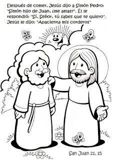 SGBlogosfera. Amigos de Jesús: Dibujos blanco y negro